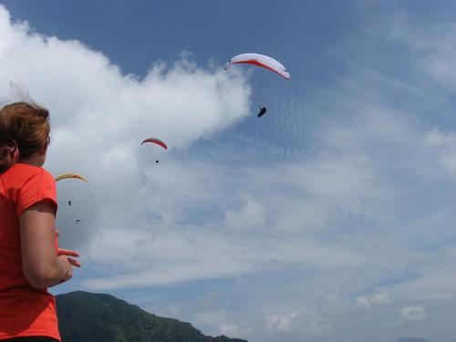 Paragliding - Itálie, Slovinsko