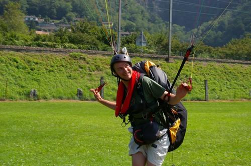 Paragliding Marthys