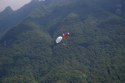Paragliding - záložní padák