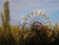 Ruské kolo v zábavním parku který nebyl nikdy otevřen
